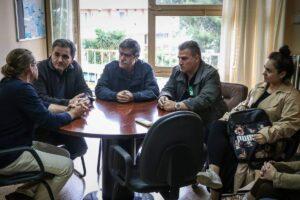 Το Νοσοκομείο επισκέφτηκε ο υποψήφιος Δήμαρχος, Ε.Φονταράς, συνοδευμένος από τον Υπουργό Οικονομικών Ευκλείδη Τσακαλώτο και υποψήφιους δημοτικούς συμβούλους