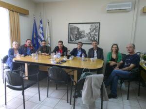 Ο υποψήφιος Δήμαρχος, Ε. Φονταράς επισκέφθηκε το Επιμελητήριο Πρέβεζας