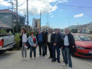 Ο υποψήφιος Δήμαρχος, Ε. Φονταράς, συνοδευμένος από τον Υπουργό Οικονομικών Ευκλείδη Τσακαλώτο και υποψήφιους δημοτικούς συμβούλους περιόδευσε στην περιοχή του Λούρου
