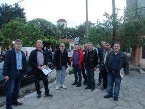 Ο υποψήφιος Δήμαρχος, Ε. Φονταράς επισκέφθηκε τα χωριά Λούρο, Ωρωπό και Στεφάνη
