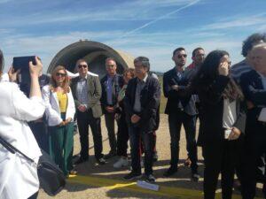 Ο υποψήφιος Δήμαρχος, Ε. Φονταράς παρευρέθηκε στα εγκαίνια της βάσης Αεροδιακομιδών του ΕΚΑΒ στο Αεροδρόμιο του Ακτίου